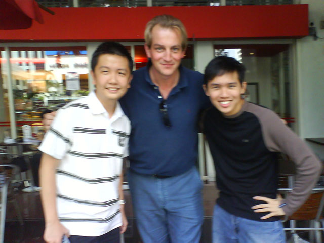 Vince, Tim, Edmund