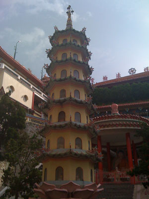 At the Kek Lok Si Temple