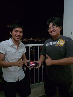 Winning a PSP from Khai Ng